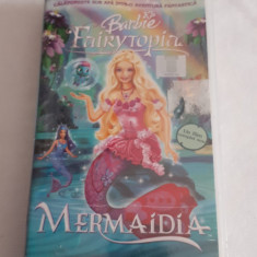 Barbie Fairytopia, caseta video VHS, desene animate, originala, sigilata