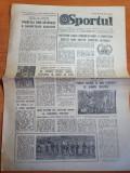Sportul 19 august 1983-articol clubul unirea din focsani,vrancea