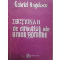 Dictionar de dificultati ale limbii romane (1993)