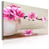 Tablou canvas - Natura morta flori Sakura - 120 x 80 cm, Artgeist