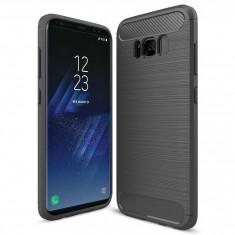 Husa SAMSUNG Galaxy S8 Plus - Luxury Carbon TSS, Gri