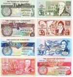 REPRODUCERI  lot 4  Guernsey 1980 Pound banknote