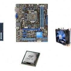 KIT Placa de baza [SHD] Asus P8H61-M / Intel Core i7-3770 / 8GB DDR3 1600Mhz