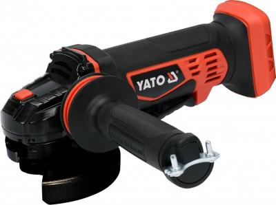 Yato Polizor unghiular disc 125 mm compatibil cu acumulator Li-ion 18 V foto