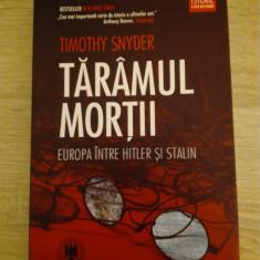 Thimoty Snyder - Taramul mortii (Europa intre Hitler si Stalin)