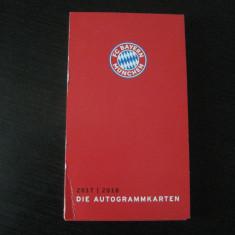 Bayern  Munchen 2017-2018 - lot 31 fotografii cu jucatori si antrenori