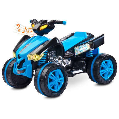 ATV Electric Toyz RAPTOR 2x6V Albastru foto