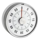 Timer analog pentru bucatarie Puck Tfa, 79 x 32 x 79 mm, otel/plastic cauciucat