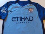 Tricou NIKE fotbal - MANCHESTER CITY FC (jucatorul cu nr. 10 Kun AGUERO)