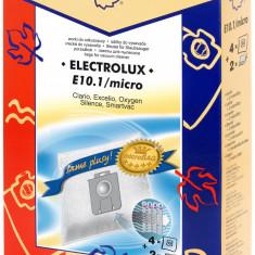 Sac aspirator Electrolux Clario sintetic 4X saci + 2 filtre KM