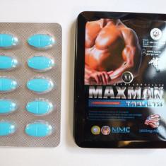 MaxMan XI Natural Male Enhancement 10 Tablets