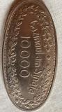 JETON CAZINOU SINAIA/VALOARE NOMINALA 10000/STARE f.BUNA