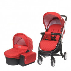 Carucior 2 in 1 Atomic 4Baby Red