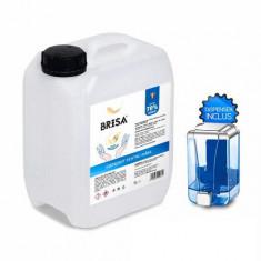 Igienizant pentru maini si dispenser Brisa 70% alcool 5 litri