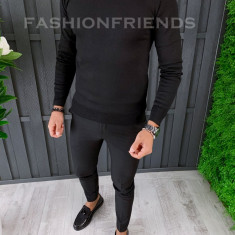 Pulover fashion barbati - negru - COLECTIE NOUA A6460