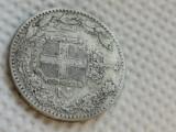 Italia 2 lire 1887 argint