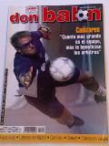 "Revista fotbal - ""DON BALON"" (09.04.-15.04.2001) poster echipa ZARAGOZA"