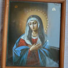 Icoana RUSIA anii 1960 / Icoana ortodoxa veche sfintita