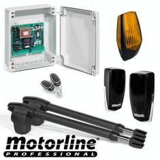 Kit automatizare poarta batanta 2x2.5m -MOTORLINE