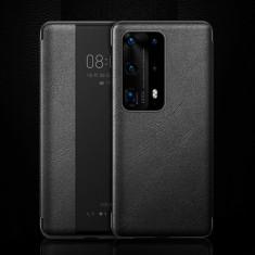 Husa Huawei P40 Pro Flip Cu Stand Neagra