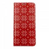 Cumpara ieftin Husa Craciun Flip Carte Xiaomi Mi 9T Pro model Christmas Star, Portofel cu Stand, Antisoc, Viceversa