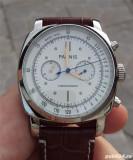 ceas 44 mm parnis force cronograf 24 h panerai homage