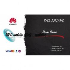 Deblocare Huawei Romania 1-2 zile
