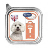 Butcher's Dog Pro Series Pate, Talie Mica si Medie, Vita si Vanat, 150 g