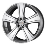 Jante OPEL MERIVA Facelift 7J x 16 Inch 5X110 et40 - Mak F5 Silver - pret / buc, 7, 5