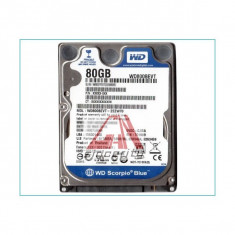 Hard disk laptop sata 80gb Western digital 5400rpm -Sh