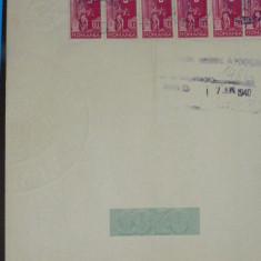 C3 Coala fiscala  100 lei verde1939