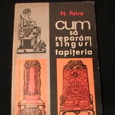 CUM SA REPARAM SINGURI TAPITERIA-N. PETRE-