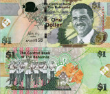 BAHAMAS 1 dollar 2015 UNC!!!
