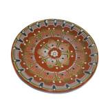Farfurie din ceramica pictata manual, 30 cm