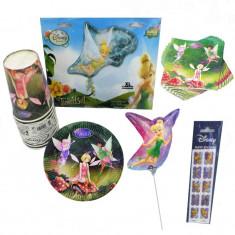 Pachet party Fairies & Tinkerbell, Radar Tinker, set 66 piese