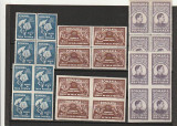 RO -FUNDATIA REGELE MIHAI 1947 – SCUTIT DE TAXA POSTALA, DT SI NDT H ALBA BLOC 4, Nestampilat