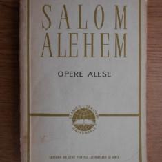 Șalom Alehem - Opere alese ( Romane și povestiri )
