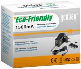 Alimentator de curent continuu 3V-12V 1500MA, Goobay