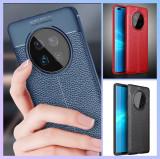 Husa / Bumper Antisoc model PIELE pt. Huawei Mate 40 Pro, Alt model telefon Huawei, Albastru, Negru, Rosu, Alt material