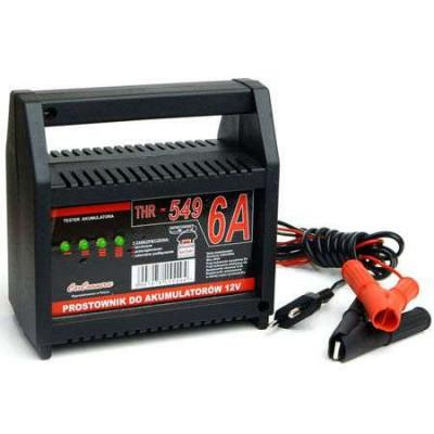 Incarcator baterie acumulator auto 12v 6a cu indicator foto