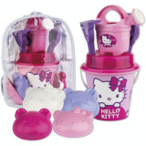 Rucsac mare cu jucarii de nisip Hello Kitty Make up - Androni Giocattoli