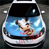 """Sticker Imprimat Color pentru Capota """"Hood Art"""" cod: KM-HOOD-76"""