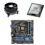 Placa de Baza Second Hand ASUS P8B75-M, I5-3470, Cooler, Pentru INTEL, LGA 1155, DDR3