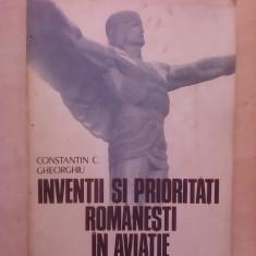 Inventii si prioritati romanesti in aviatie - CONSTANTIN GHEORGHIU