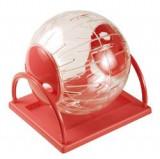 Jucarie minge cu suport pentru hamsteri -18.5 cm - 7653.1