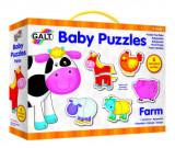 Baby Puzzle: Ferma (2 piese), Galt
