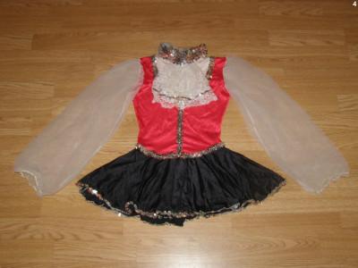 costum carnaval serbare rochie dans balet pentru copii de 9-10 ani foto