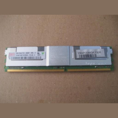Memorie server 2GB DDR2 2RX4 PC2-5300F-555-11 ECC Fully Buffered foto