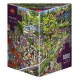 Puzzle Heye Party Cats, 1000 piese