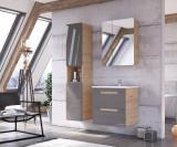 Set Mobilier pentru baie, 4 piese, Aruba Agave